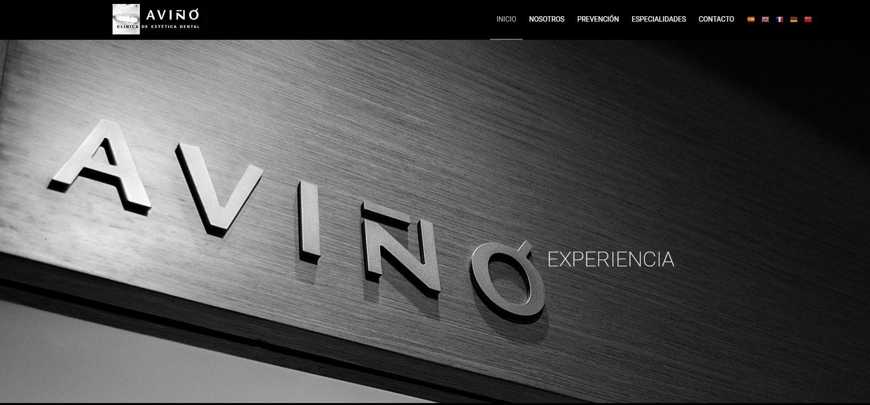 Nueva web Clinica Aviño