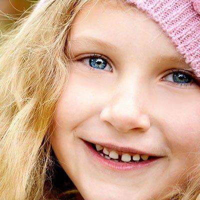 niña sonrisa