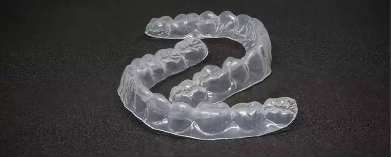 Imagen de una ortodoncia invisible