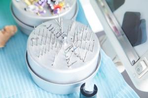 Agujas herramientas dentales limas de endodoncia